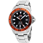 *Seapro Mens Scuba 200 Stainless Steel Case, Scratch Resistant Mineral, Water Resistant Watch -P-