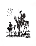 PABLO PICASSO (After) Don Quixote Print, 383 of 500